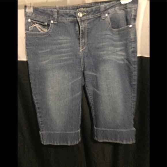 n y pants blue jeans knee knocker poshmark